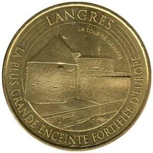 52-2379 - JETON TOURISTIQUE MDP - Langres - La tour de Navarre - 2016.1