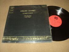 """@ GERARD MANSET 33 TOURS LP 12"""" FRANCE LA MORT D'ORION"""