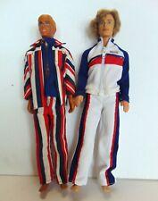 2 Ken Dolls - Mattel 1968 (Mod & Blue Eyes) - Hong Kong & Indonesia