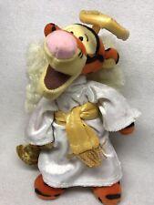 Tigger Disney Tigger Choir Angel Year 2000, Plush Bean Bag 9 inch w/ tag