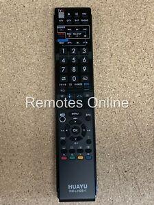 Sharp Aquos TV Replacement Remote Control for GA988WJSA LC70LE735X, LC-70LE735X