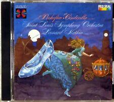 RCA CD 1985 JAPAN Prokofiev SLATKIN Cinderella Ballet SMOOTH CASE RCD1-5321