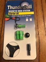 Thunderball Magnetic Nock System Starter Kit X-Nock Green Ships N 24h