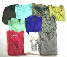 Wholesale Bulk Lot 10 Womens Small Long Sleeve Tops Blouses Casual Shirts