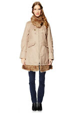PROMOTION !!! SUPERBE MANTEAU BEIGE DDP NEUF FEMME TAILLE M
