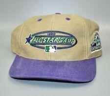 1998 MLB All-Star Game Colorado Rockies Logo 7 Vintage Strapback Cap Hat