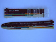 SWATCH  x MUSICALL JINGLEME - SLK118 - 1998 - NUOVO  strap band CINTURINO