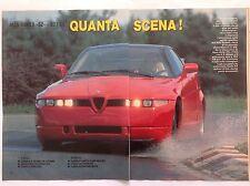 ARTICOLO alfa Romeo SZ - modelli zagato  -  1990