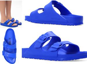 Birkenstock Unisex Ultra Blue Eva Ultra Lightweight Sandals Slides 44