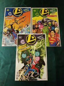 LEGION OF SUPER-HEROES #2 3 4- RYAN SOOK 3 ISSUE LOT SET - DC COMICS/2020