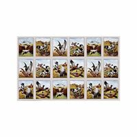 Sports Afield Duck Hunting Cotton Fabric Panel   Elizabeth Studios   Bfab