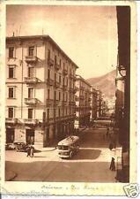cm 034 1952 SALERNO - Via Roma - filobus - viaggiata