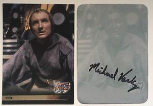 Blakes 7/Blake's Seven Trading Card Series 1 Chase Card Printing Plates #F8 Vila