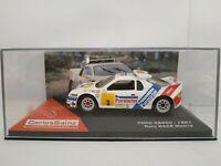 1/43 FORD RS200 1987 CARLOS SAINZ RALLY RACE MADRID COCHE METAL ESCALA DIECAST