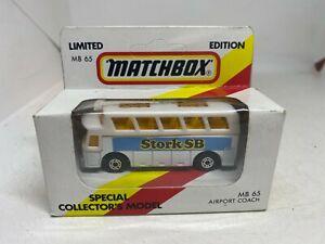 Matchbox Special Collectors Model MB65 Airport Coach 'Stork SB' - NEW