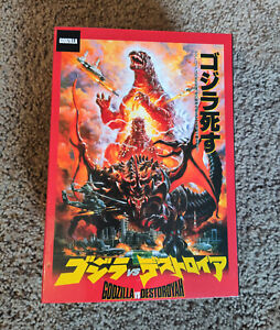 Neca Godzilla vs Destroyah new in box Burning Godzilla Heisei era
