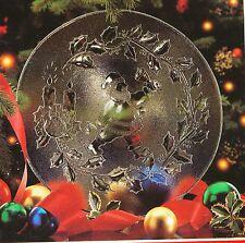 Adventsteller Weihnachtsteller Glasteller Plätzchenteller Deko-teller 31 Cm RU