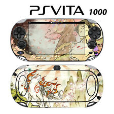 Sony PS Vita PSV 1000 Skin Decal Sticker Vinyl Wrap Okamiden Wolf Dog