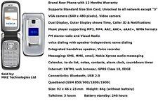 New Nokia 6085 Flip Fold Dual Display FM Radio Bluetooth Mobile Phone - Unlocked