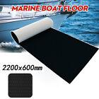 Eva Foam Boat Marine Yacht Flooring Mat Faux Teak Decking Yacht Sheet Pad Black
