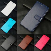 For Samsung A9 A7 A6 A8+ 2018 A3 A5 2017 Case Flip Leather Magnetic Wallet Cover