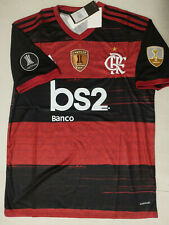 2020-21 Flamengo Home / Away soccer Jersey and Copa Libertadores champion patch