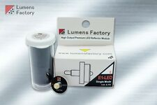 E1-LED 1 Mode LED Assembly for Surefire E1 E1E E2 E2E E2D E2O. 2.7-4.5V, 1 cell