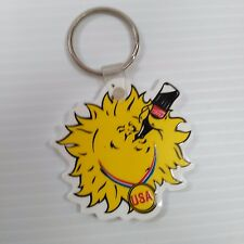 Coca-Cola Olympic Sun Drinking Keychain - FREE SHIPPING