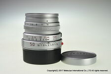 Leica Summicron M 50mm f/2 E39 Silver Chrome Excellent+