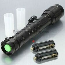 Military Grade Tactical XML-T6 LED Flashlight 3600 Lumens Militac T2000 Style
