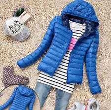 US NEW Women's Short Coat Hooded Down Coat Parka Jacket Winter Warm Outwear GIFT