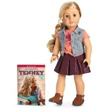 "American Girl TENNEY Grant DOLL & Book New NIB 18"" Tenny Guitar Player"