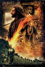 The Hobbit ~ Thorin Bilbo 24x36 Movie Poster Desolation Of Smaug Martin Freeman