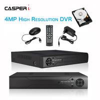 4/8/16 CH 4MP 1440P CCTV DVR Super HD Recorder H264 P2P HDMI Remote Mobile View