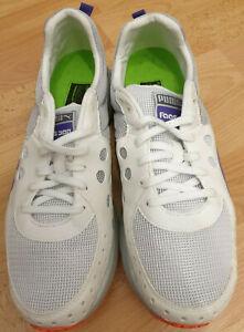 1 Puma Faas 300 W Damen Frauen Sport weiß white Größe 40,5 NEU 18509506