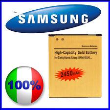 Batteria Gold 2450mAH SAMSUNG GALAXY S3 MINI I8190 - MAGGIORATA E COMPATIBILE