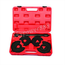 5pc Coil Spring Compressor Telescopic Repair Tool Kit For Mercedes Benz