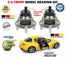 FOR MAZDA RX 8 RX8 1.3 2003-2008 2x FRONT HUB WHEEL BEARING KIT SET OE QUALITY