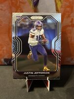 2020 Panini Prizm Rookie Justin Jefferson Base RC Minnesota Vikings #398