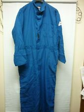 BULWARK PROTECTIVE APPAREL  ARC RATING FLAME RESISTANT COVERALL BLUE 50 REGULAR