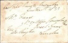 "Arthur Wellesley, 1st Duke of Wellington 4"" x 3"" Paper Signed in 1833 w/ COA"