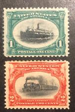TDStamps: US Stamps Scott#294 295 Mint H OG