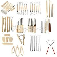 Pottery Clay Modeling Wire Cutter Wood Mold Plier Sculpture Carving Craft Tool