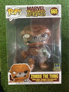 "Funko Pop! Marvel - Zombie The Thing 665 - 10""- Exclusive SDCC"