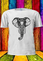 Elephant Astec Abstract Design Cool T-shirt Vest Tank Top Men Women Unisex 2113