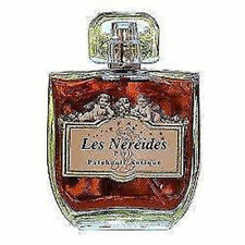 2 PEZZI LES NEREIDES  EDT 100 ml PROFUMO PATCHOULI ANTIQUE VINTAGE DISCONTINUED