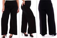 USA made Women's True Plus Size Wide leg Pants,Long Pants 1X 2X 3X,4XL,5XL,6XL,