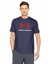 Tee-shirt Sportstyle Big Logo Navy/red E17 - Under Armour Bleu XS