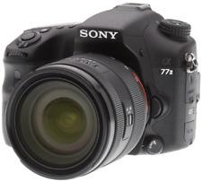 Cámara digital A-Sony SL Alpha A77 II con lente de 16-50mm