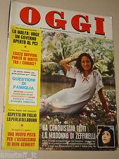 OGGI 1977/15=SPECIAL GESU DI NAZARETH ZEFFIRELLI FILM ROBERT POWEL OLIVIA HUSSEY